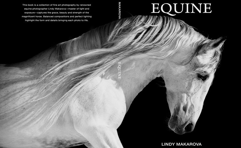 конь, белый тонер