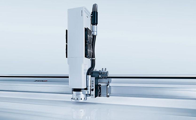 Zund разработала модуль для лазерной резки текстиля