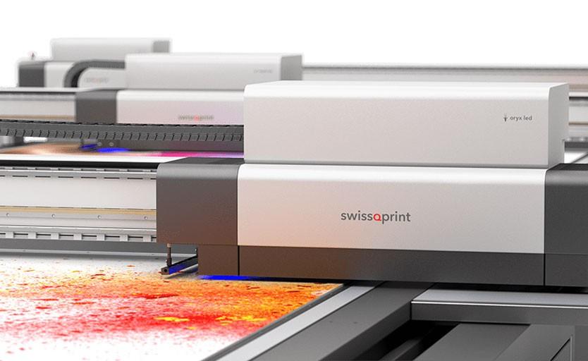 swissQprint выпускает на рынок светодиодную версию УФ-принтера Oryx