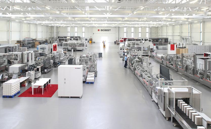 Новый Bobst Competence Center в Швейцарии
