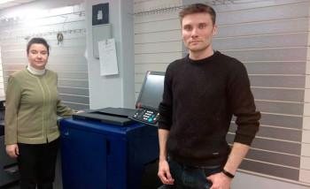 В типографии «Два товарища» запущена цифровая печатная машина Konica Minolta AccurioPrint С3070L