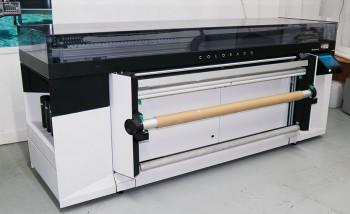 """Широкоформатный УФ-принтер Colorado 1640 в офисе типографии """"Буки Веди"""""""