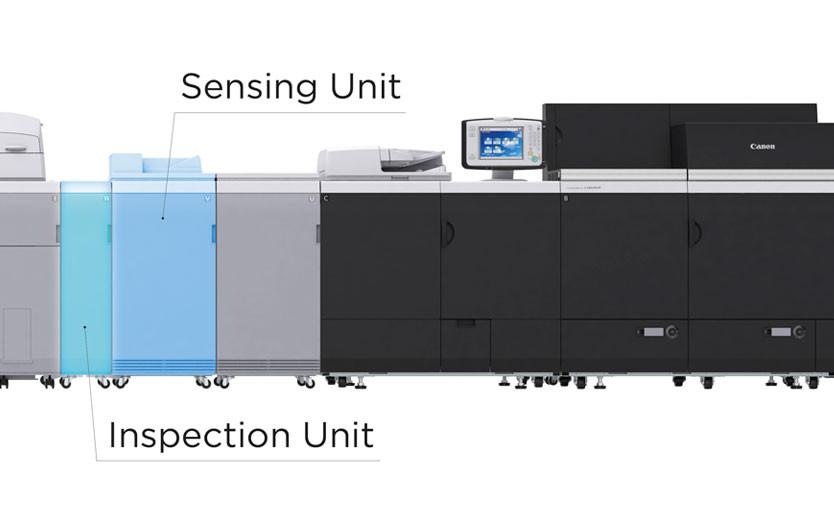 Canon представила новые модули для автоматизации печати на листовых ЦПМ imagePRESS C10010VP