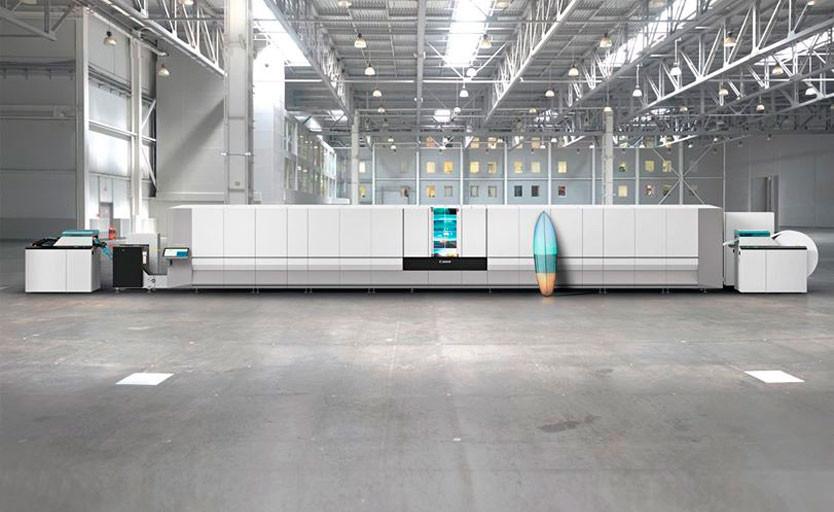 Рулонная струйная печатная машина Canon ProStream 1800