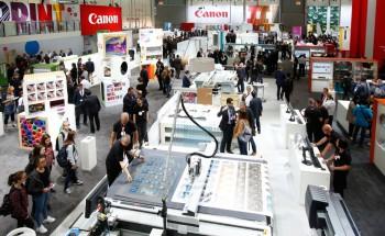 Стенд Canon на выставке drupa 2016