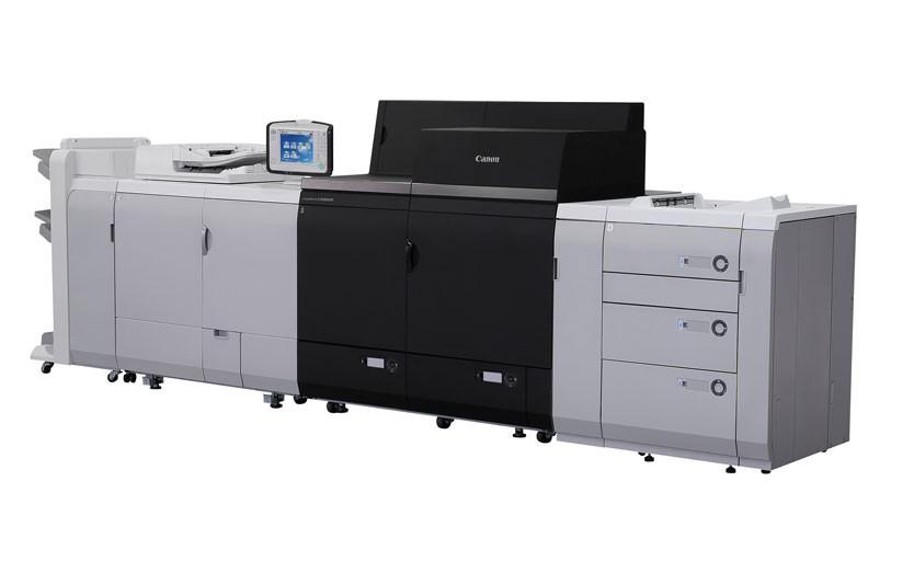 """В книжной типографии """"Паблит"""" установлена цифровая печатная машина Canon серии imagePRESS С10000VP"""