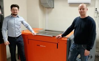 На производстве ГК Delfin установлен комплекс допечатного оборудования для изготовления флексоформ