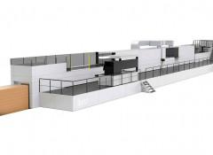 Струйная машина Koenig & Bauer Durst Delta SPC 130 FlexLine Automatic, предназначенная для печати по гофрокартону