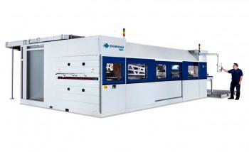Компания Domino анонсировала свою первую струйную машину для однопроходной печати по гофрокартону