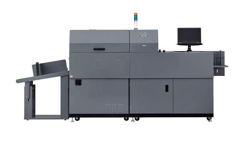 Duplo выпускает новые машины для отделки малотиражной картонной упаковки