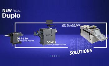 Duplo выпускает новый мультифинишер, режущий плоттер и устройства квадрачения корешка