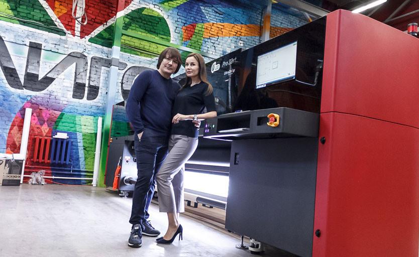 В компании «ЛИГО» установлен первый в России рулонный УФ-принтер EFI Pro 32R+
