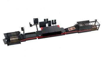 Промышленный комплекс EFI Nozomi, предназначенный для однопроходной струйной печати по гофрокартону