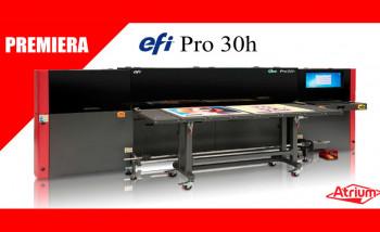 EFI анонсировала новый гибридный УФ-принтер начального уровня Pro 30h