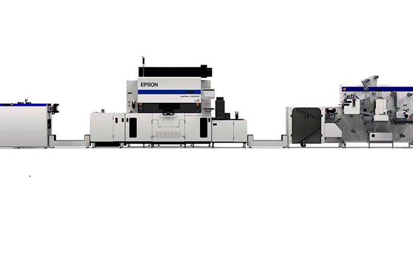 Epson интегрировала свою этикеточную ЦПМ с финишной линией GM
