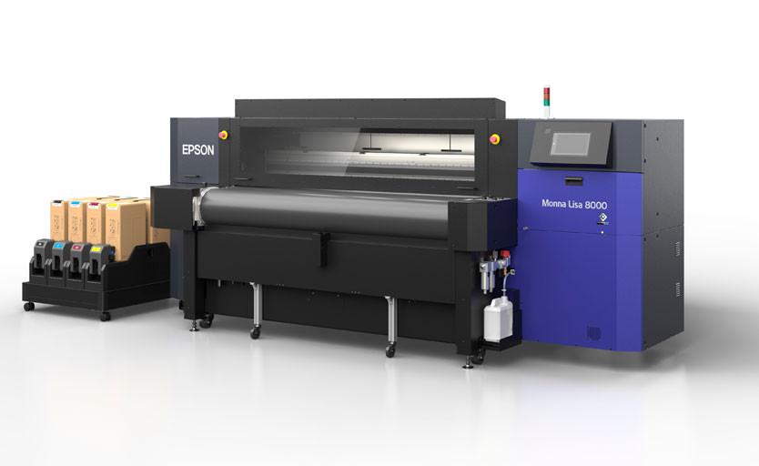 Epson будет продавать в России промышленные текстильные принтеры Monna Lisa