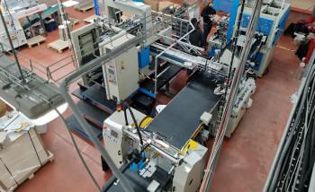 В «Супервэйв Групп» установлена новая машина Europrogetti для изготовления оклеенных коробок