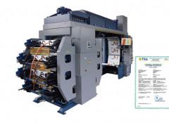 «Киевполиграфмаш» выпустил новую широкорулонную флексомашину ФДР 600/8 с центральным цилиндром