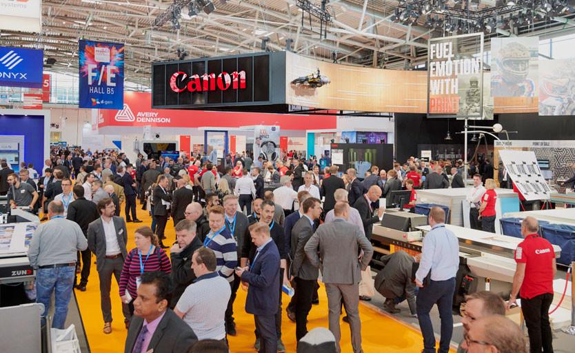 Стенд Canon на FESPA Global Print Expo 2019