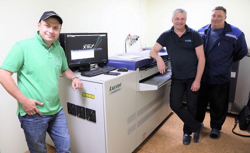 В типографии Издательского дома НАО запущена термальная CtP-система Fujifilm Luxel T-6500