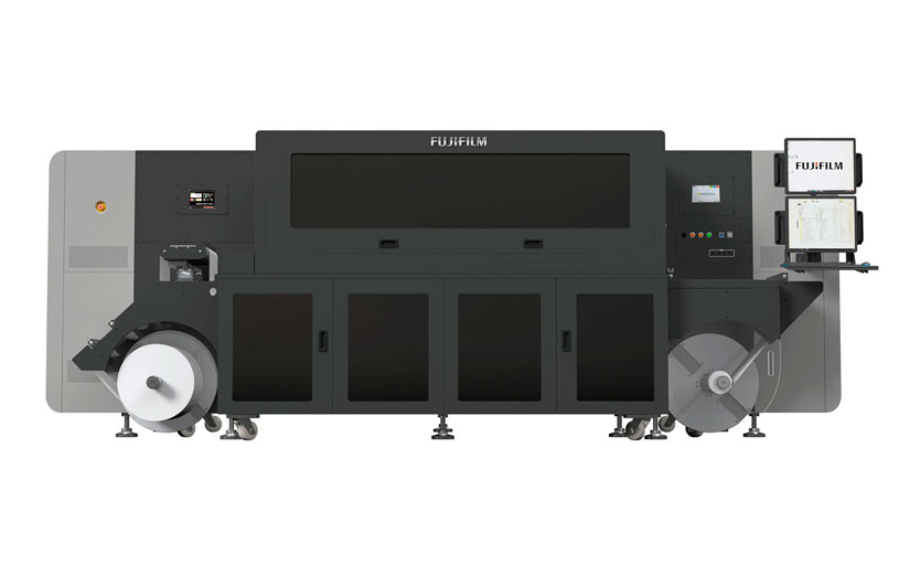 Струйная УФ-машина для печати этикетки Fujifilm Digital UV Inkjet Label Press LP350