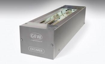 GEW выпустила УФ-систему Excimer для матирования поверхностного покрытия материалов