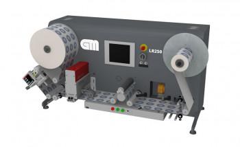 Контрольно-перемоточная машина GM LR250 Label Inspection Rewinder
