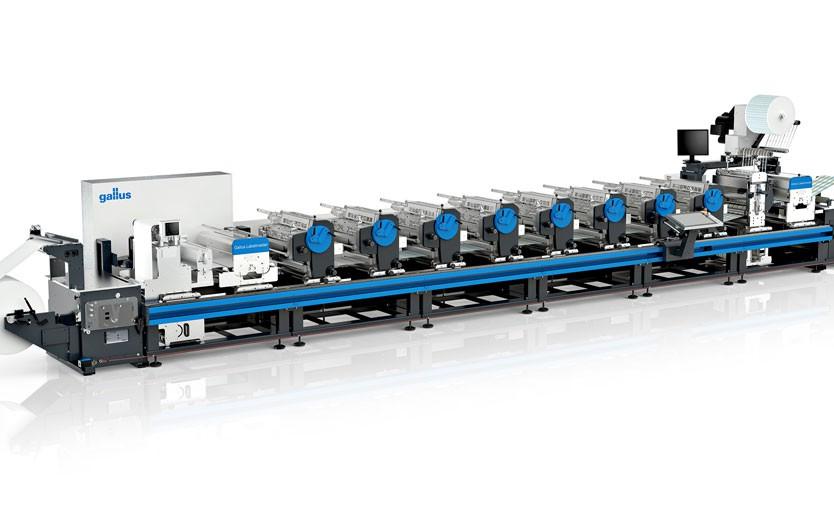 Две новые флексомашины Gallus Labelmaster 440 установлены в типографиях Московской области