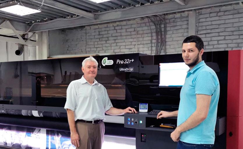 В московской компании Grata Adv установлен широкоформатный УФ-принтер EFI Pro 32r+