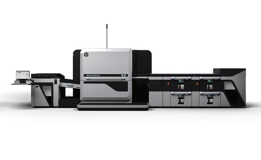 Цифровая печатная машина формата В2 HP Indigo 100K Digital Press