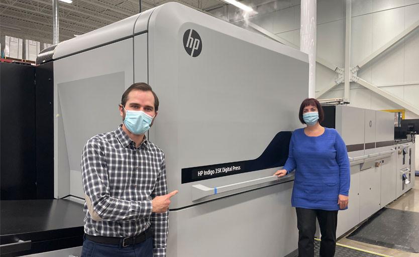 Первая в мире HP Indigo 35K установлена CCL Industries. Это сотая «индига» в глобальном парке компании