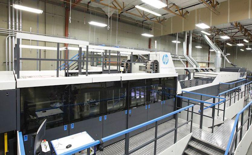 Струйная печатная машина HP PageWide C500 Press в компании BoxMaker