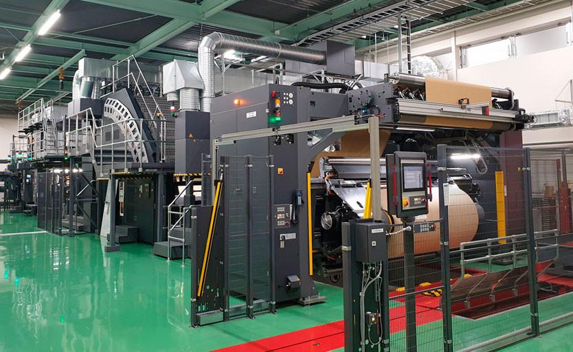 Цифровая печатная машина HP PageWide T1190 Press в японской типографии Rengo