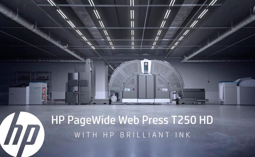 Solopress приобрела первую в мире рулонную ЦПМ HP PageWide T250 HD. Она заменит несколько листовых офсетных и цифровых машин