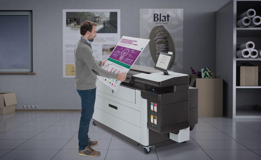 HP представила новые широкоформатные принтеры в сериях DesignJet и PageWide XL