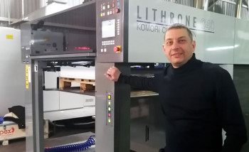 Александр Лошкарёв, начальник печатного цеха типографии «Хатбер–М»