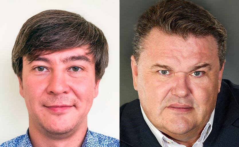 Сергей Слободчиков (слева) и Максим Епифанцев