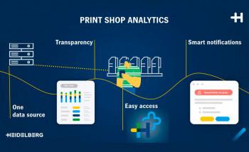 Heidelberg выпустила первое облачное приложение Print Shop Analytics