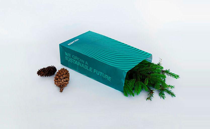 Holmen Paper выпустила бумажную альтернативу пластику для изготовления гибкой упаковки