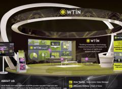 Виртуальный стенд участника — кадр из ознакомительного видео организаторов выставки