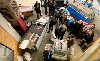 """РИКО Рус"" и «Технографика» представили комплексное решение для цифровой печати и резки"
