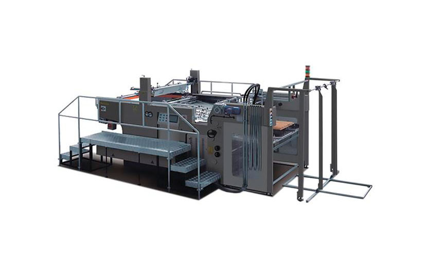 Трафаретная печатная машина Jinbao