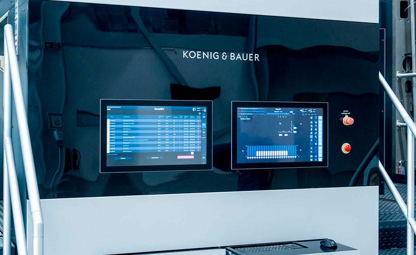 Панель управления машиной RotaJET