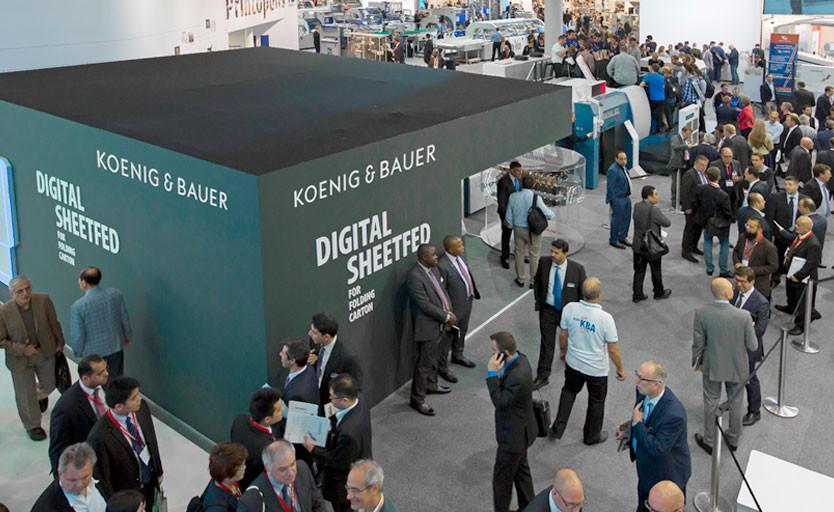 Koenig & Bauer подтвердил свое участие в drupa 2021