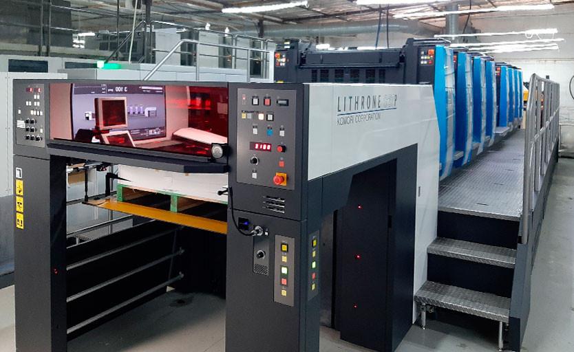 Новая офсетная машина Komori позволит типографии «Буки Веди» попробовать свои силы на рынке производства упаковки и этикетки