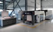 В типографии «Темп» запущена листовая офсетная печатная машина Komori GL-540C