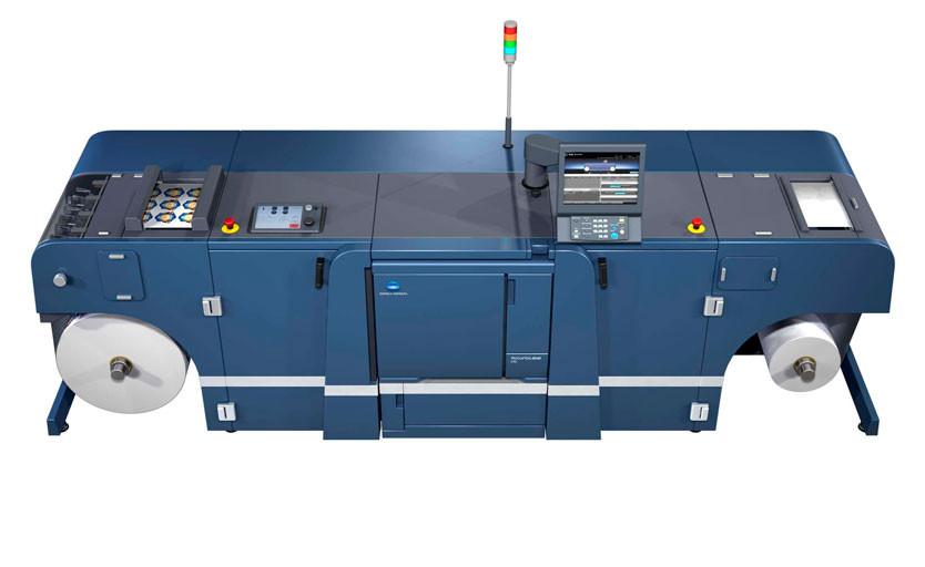 Цифровая машина для печати этикетки Konica Minolta AccurioLabel 230