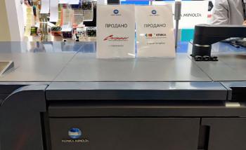 Konica Minolta сообщила о продаже двух этикеточных ЦПМ AccurioLabel 230
