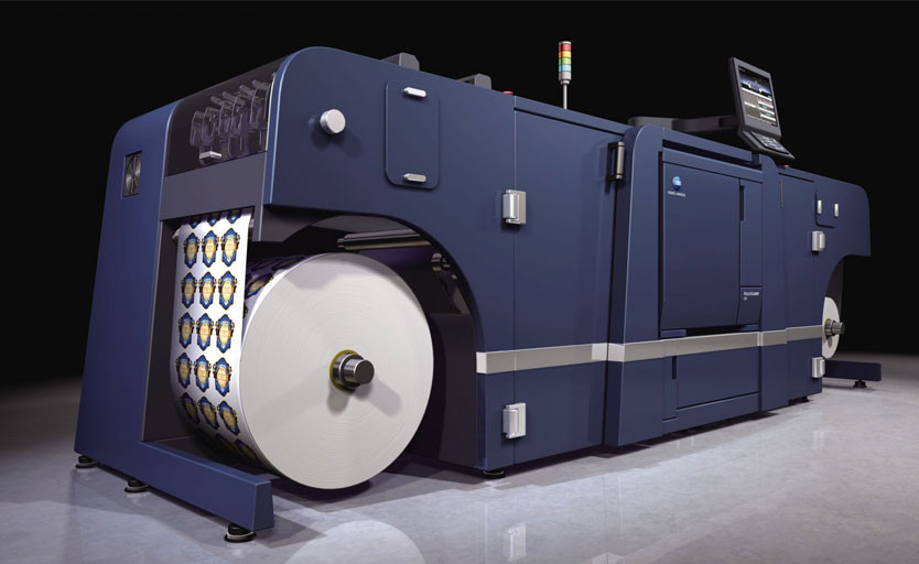 Цифровая машина для печати этикетки AccurioLabel 230 от Konica Minolta