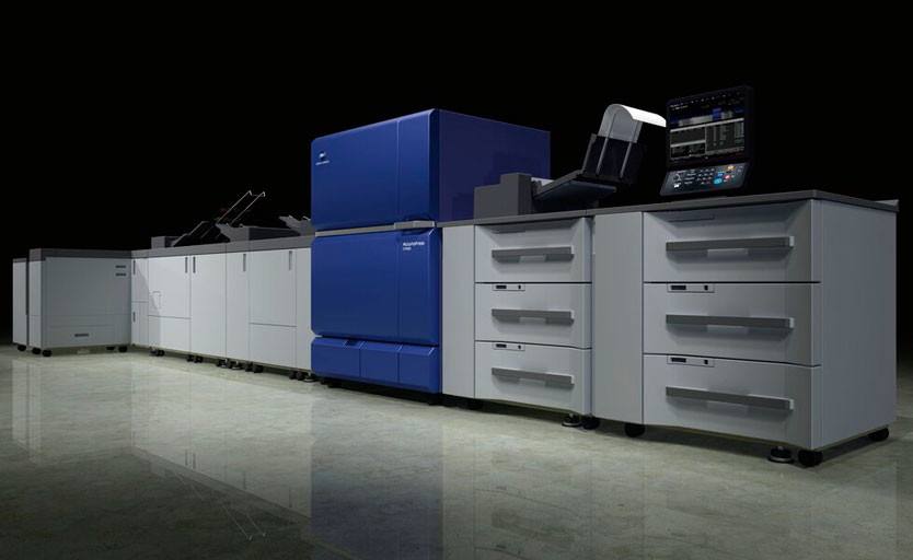 Изображение цифровой печатной машины Konica Minolta AccurioPress C12000